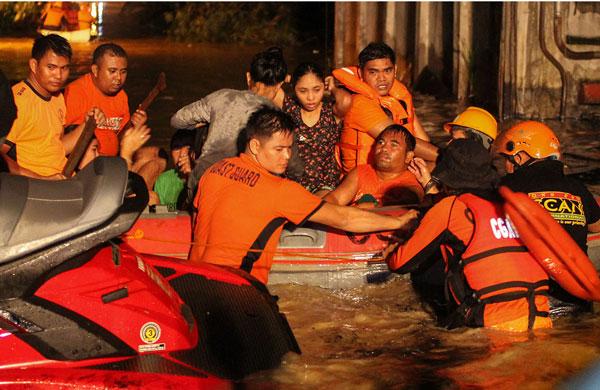 México emite condolencias a Filipinas
