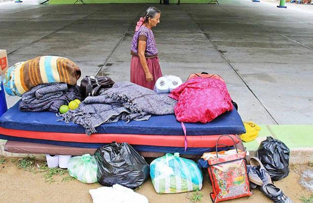 Damnificados de Oaxaca no tuvieron una feliz navidad