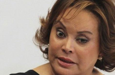 Quitan brazalete de rastreo a Elba Esther Gordillo