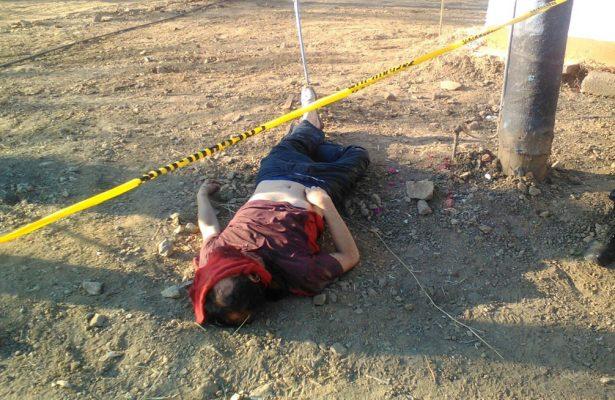 Tiran ejecutado  En Tejupilco