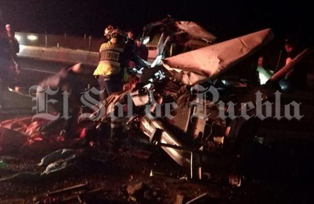 Otro accidente de peregrinos deja heridos en la México-Puebla