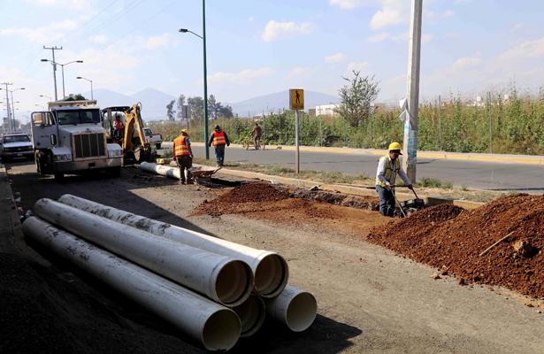 Zamora invierte 8 mdp en línea de conducción de agua potable