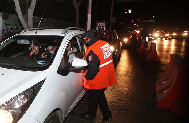 Remiten  al centro de etílicos  de Ecatepec a 18 personas por conducir en estado de ebriedad