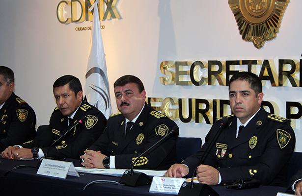 Anuncia la SSP-CDMX el inicio del operativo decembrino 2017