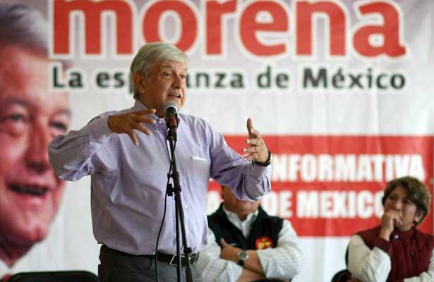 """""""Los candidatos de la mafia del poder no conocen el país"""": AMLO"""