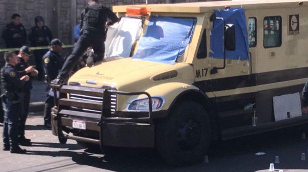 Tres custodios murieron durante asalto a camioneta de valores