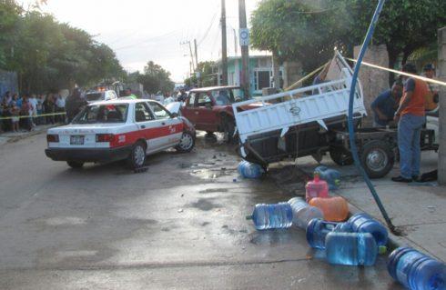 Asesinan a tres en Veracruz