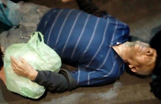 Se escapó de la muerte tras ser arrollado en AO
