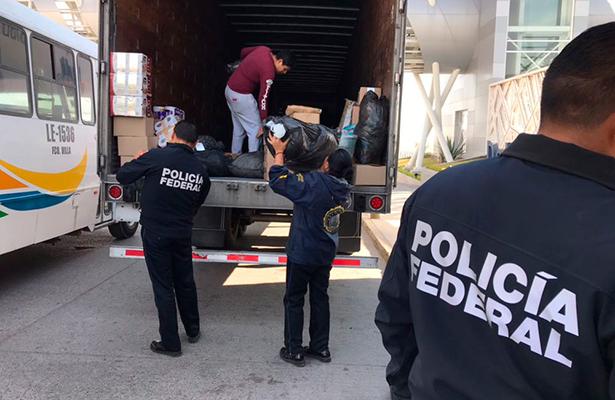 Envía PF ayuda a desplazados de Chiapas