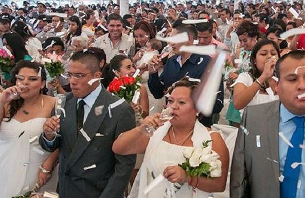 Concreta GCDMX 32 mil 290 matrimonios