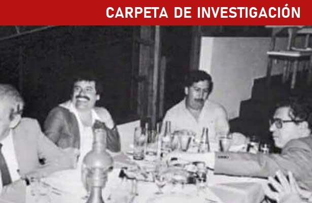 Como una familia, los capos de México y Colombia