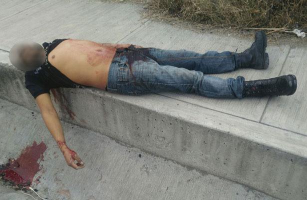 Hombre pierde la vida por disparo en el abdomen