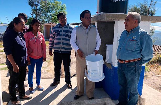 El agua de Magdalena Peñasco, contaminada