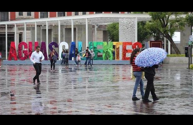 Lluvia persistente, pero sin problemas en Aguascalientes
