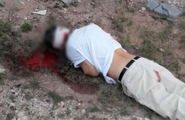 Como momia le envolvieron la cabeza antes de darle el tiro