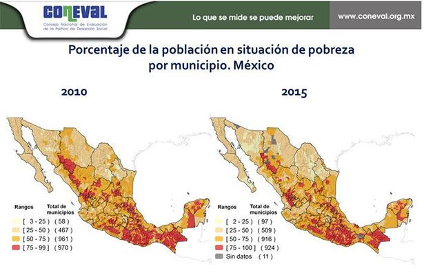 Están en Oaxaca los municipios más pobres del país: Coneval