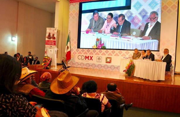 Promueven la Constitución de la CDMX con comunidades indígenas