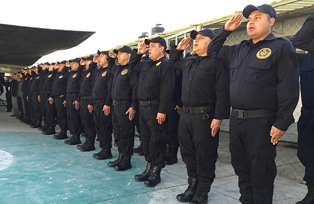 Sistema Penitenciario de la CDMX capacita a nuevos custodios