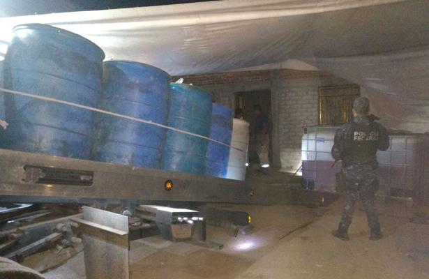 Aseguran dos inmuebles para resguardo de hidrocarburo robado