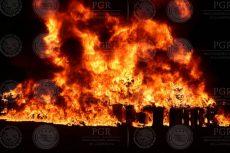 Incinera PGR más de una tonelada de drogas en Sonara