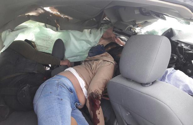 Trágica embestida mata a cuatro, en Tamaulipas