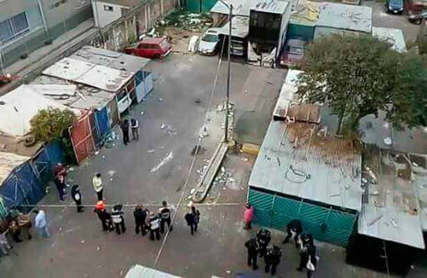 Una decena de crímenes en Tepito, el barrio de la muerte