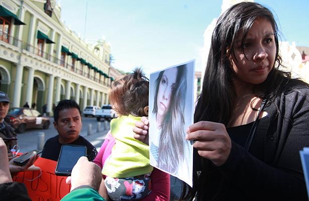 Exigen justicia por asesinato de una chica en Santuario de las Garzas