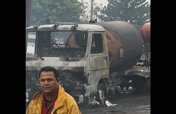 Explosión de pipa casera hiere a varias personas