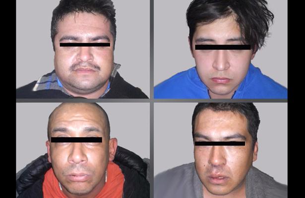 Detienen a banda de extorsionadores en Ecatepec