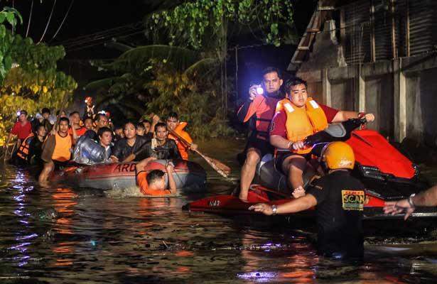 La tormenta Tembin deja al menos 130 muertos en Filipinas