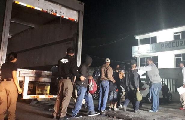 Rescata PGR 153 personas indocumentadas en Tabasco
