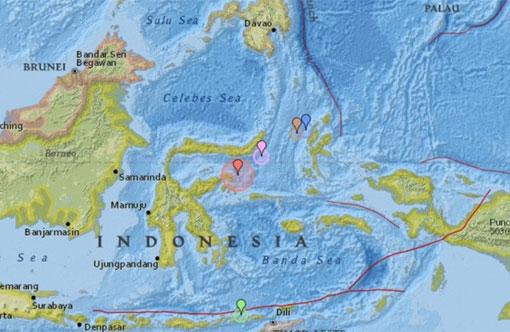 Tiembla en Indonesia; hay alerta de tsunami