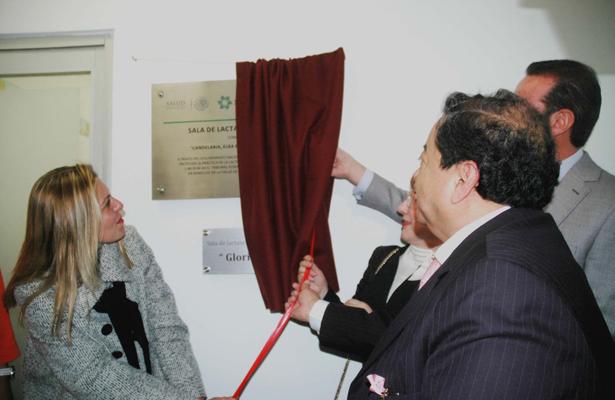Inauguran sala de lactancia materna en TFCA