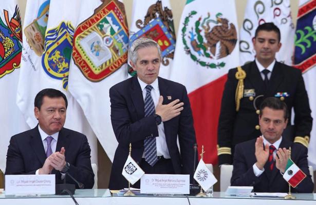 Insta Mancera a sucesor del organismo dar continuidad a proyectos emprendidos