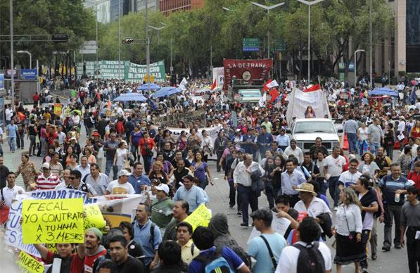 Marchas que afectarán a la CDMX este viernes