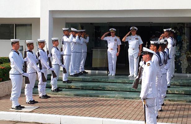 Encuentro internacional de seguridad marítima: Armadas de México, EU y Colombia