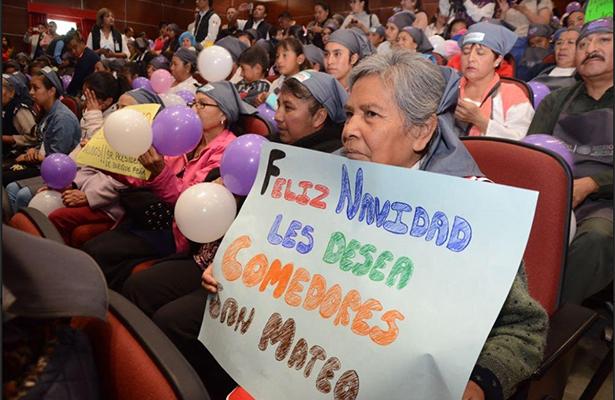 Se invertirán más de 18 mmdp en programas sociales para mexiquenses en 2018