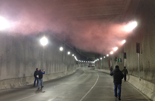 Resulta exitoso simulacro de incendio en desnivel Mixcoac-Insurgentes
