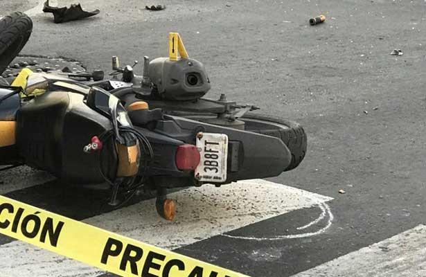 Mueren dos motociclistas; uno en la Venustiano Carranza, otro en Iztapalapa