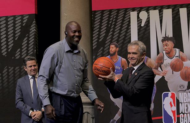Se consolida CDMX como capital del deporte y cierra 2017 con dos partidos de NBA