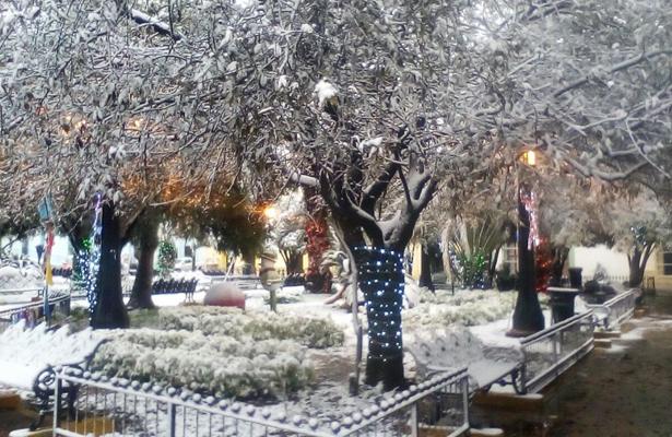 México celebrará la Navidad con nevadas y bajas temperaturas