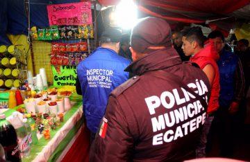 Retiran en Ecatepec más de mil 500 puestos de venta de alcohol