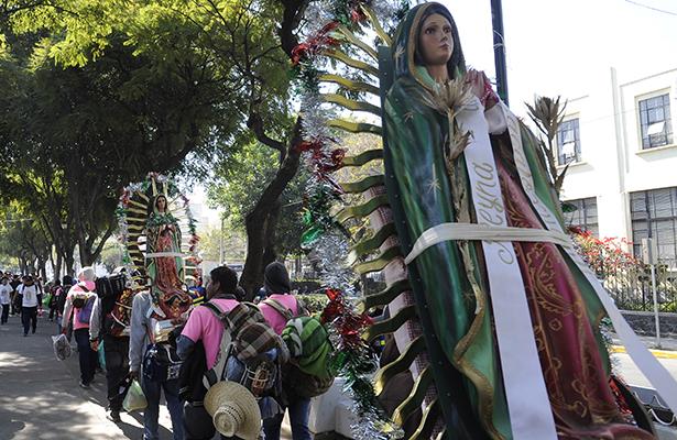Suman ya 6 millones 980 mil de feligreses en la basílica; todo transcurre en orden y calma: Lobo Román