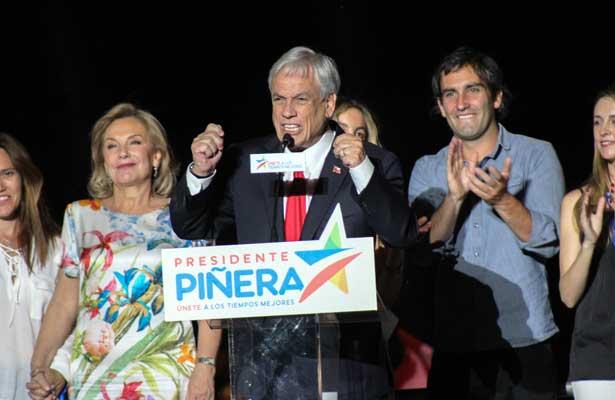 Gana Piñera y regresa la derecha al poder en Chile