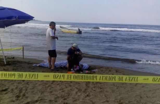 Mar se traga a joven poblano en Veracruz