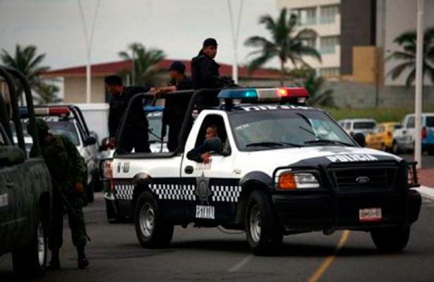 Enfrentamiento de policías y ladrones deja cuatro muertos en Veracruz