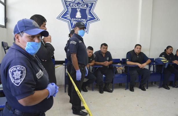 Realizan cursos de capacitación a polis de Naucalpan