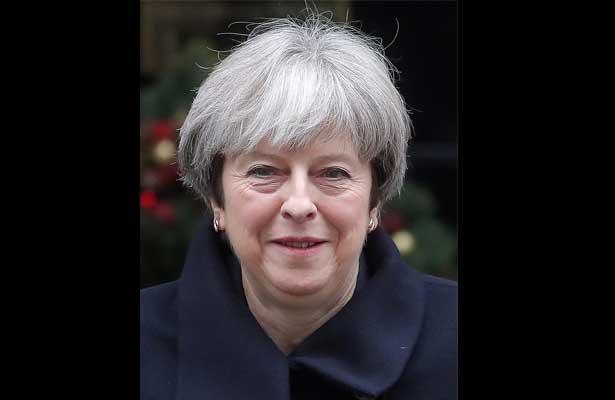 Frustran presunto atentado contra primera ministra británica