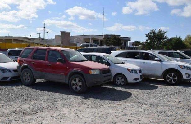 Aseguran al menos 40 vehículos, en Tamaulipas