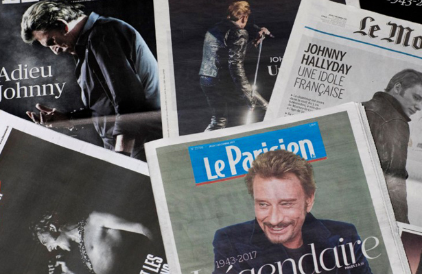 Despiden con honores a Johnny Hallyday
